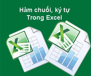 Tìm hiểu các hàm chuối và văn bản trong excel