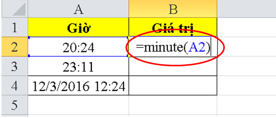 cach-dung-ham-minute-trong-excel-1