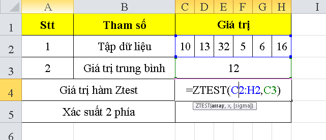 cach-su-dung-ham-ztest-trong-excel-1