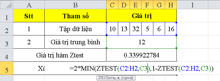 cach-su-dung-ham-ztest-trong-excel-3