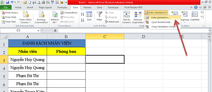 cach-su-dung-drop-down-trong-excel-1