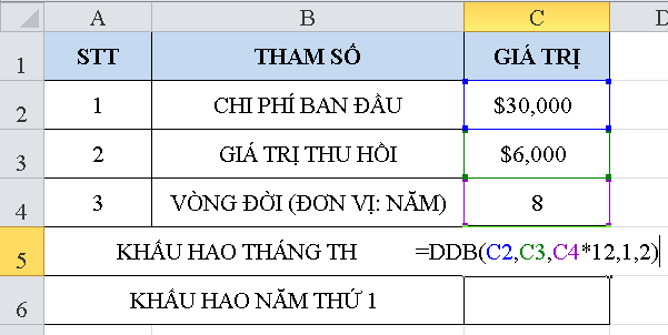 cach-su-dung-ham-ddb-trong-excel-1