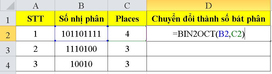 cach-su-dung-ham-BIN2OCT-trong-excel-1