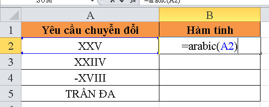 cach-su-dung-ham-ARABIC-trong-excel-1
