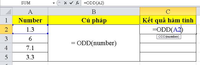 cach-su-dung-ham-ODD-trong-excel-1