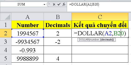 cach-su-dung-ham-DOLLAR-trong-excel-1