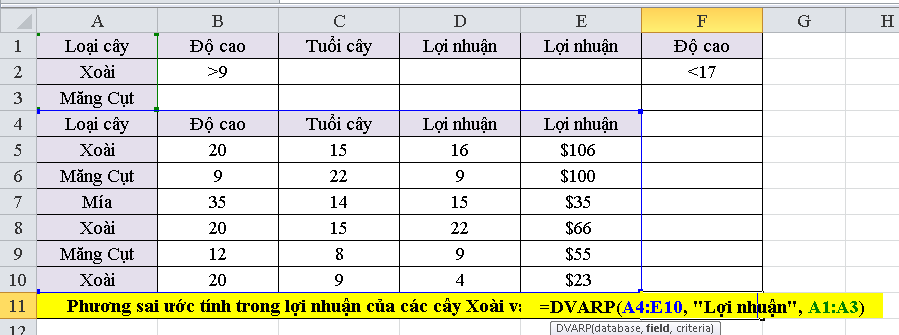 cach-su-dung-ham-DVARP-trong-excel-1