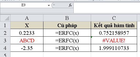 cach-su-dung-ham-ERFC-trong-excel-4