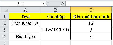 cach-su-dung-ham-LENB-trong-excel-4