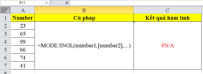 cach-su-dung-ham-MODE.SNGL-trong-excel-3