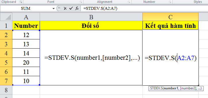 cach-su-dung-ham-STDEV.S-trong-excel-1
