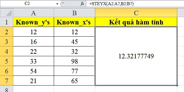cach-su-dung-ham-STEYX-trong-excel-3