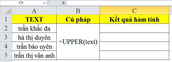 cach-su-dung-ham-UPPER-trong-excel