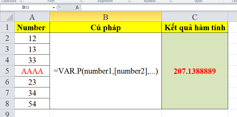 cach-su-dung-ham-VAR.P-trong-excel-3