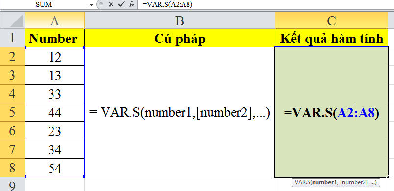 cach-su-dung-ham-VAR.S-trong-excel-3