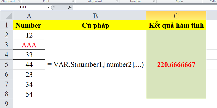 cach-su-dung-ham-VAR.S-trong-excel-5