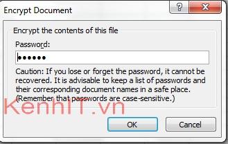 Cách bỏ mật khẩu trong file excel