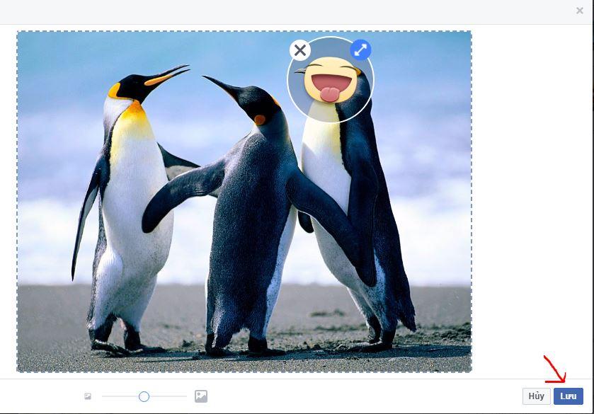 Hướng dẫn cách chèn nhãn sticker, hình ảnh đẹp đáng yêu vào ảnh facebook