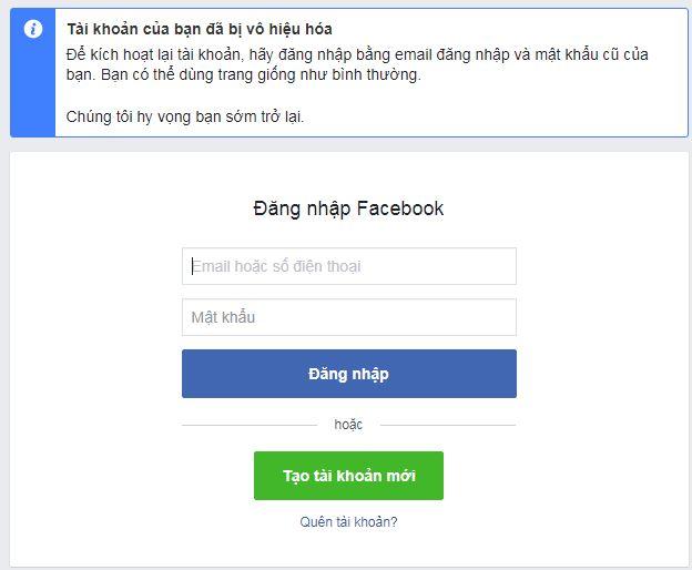 Hướng dẫn cách khóa tài khoản facebook