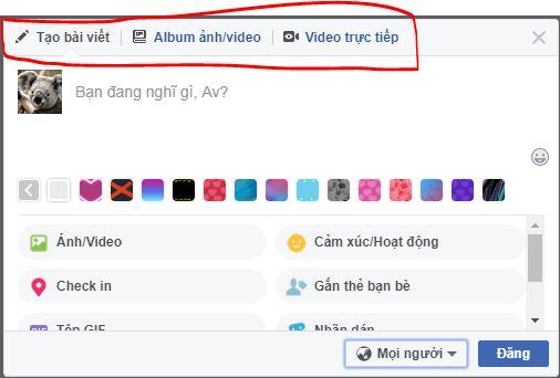 Hướng dẫn đăng bài viết, hình ảnh, status chỉ một số người biết trên facebook