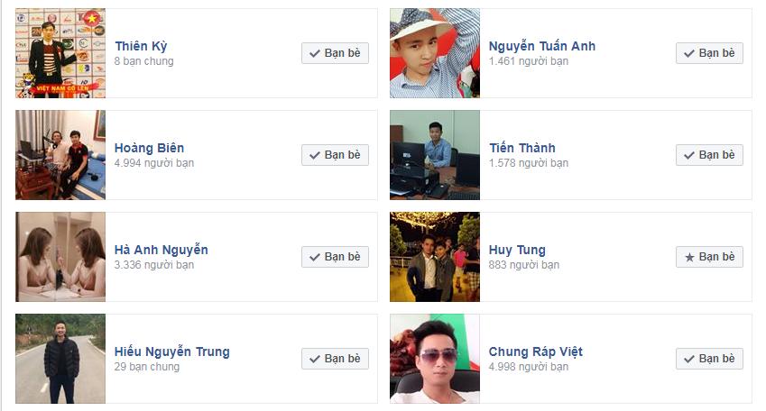 Cách xem số lượng bạn bè trên facebook