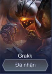Cách chơi lên đồ cùng bảng ngọc phù hiệu cho Grakk mùa 11