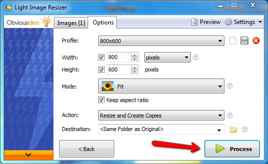 Phần mềm giảm dung lượng ảnh hàng loạt