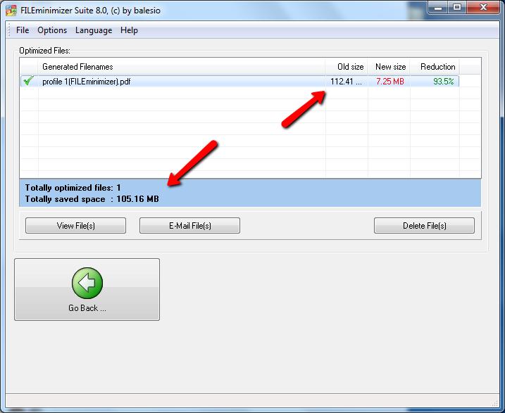 Cách giảm dụng lượng file pdf