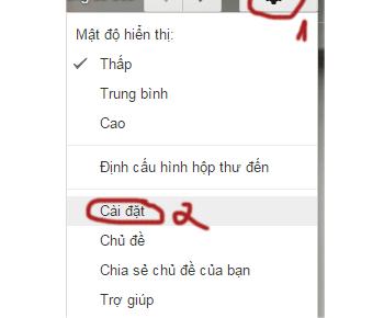Cách tắt hay bật thông báo khi có một mail mới trong gmail