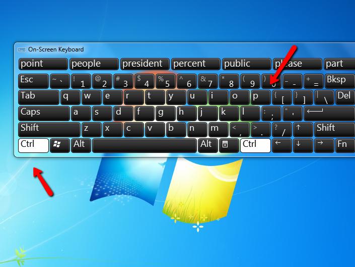 Cách sử dụng lệnh in trên bàn phím