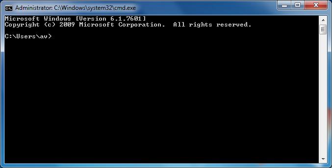 Cách mở ms dos trên máy tính