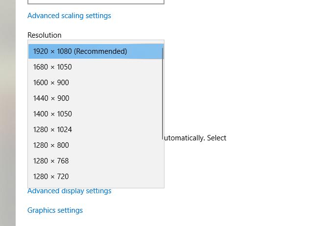 Cách chỉnh màn hình máy tính chuẩn sau khi cài windows