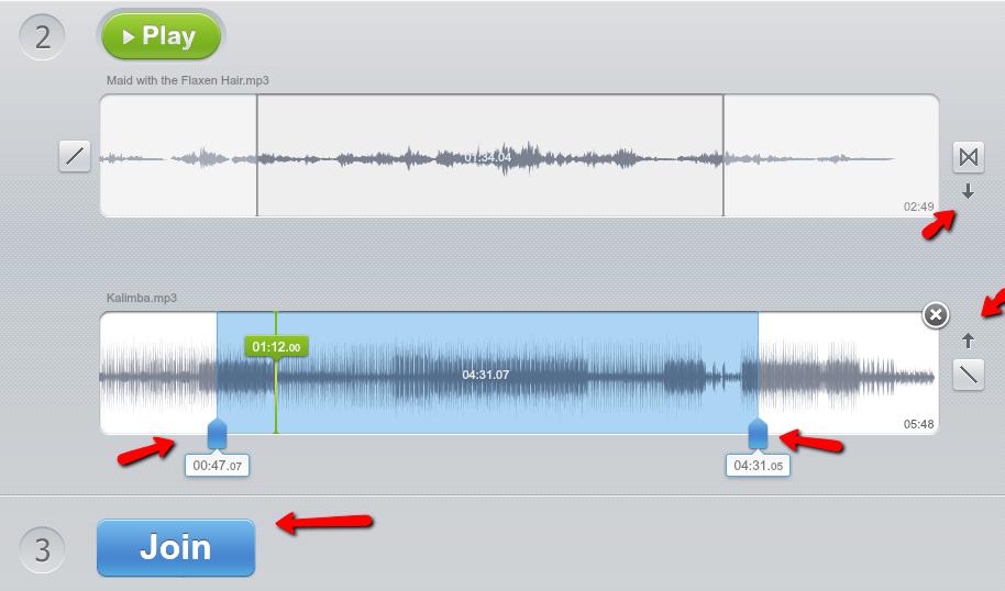 Cách ghép nhạc online không cần cài đặt phần mềm