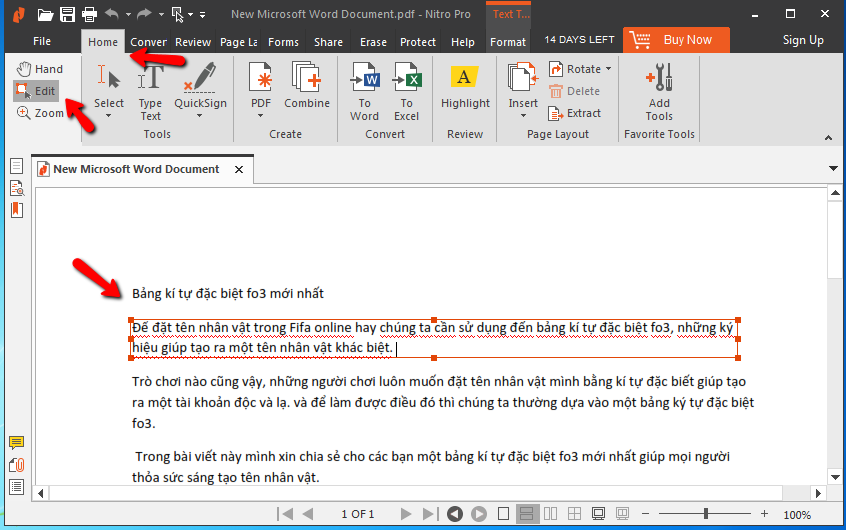 Phần mềm chỉnh sửa file pdf tốt nhất