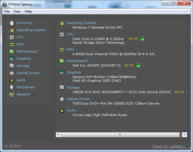 Phần mềm kiểm tra cấu hình máy tính tốt nhất
