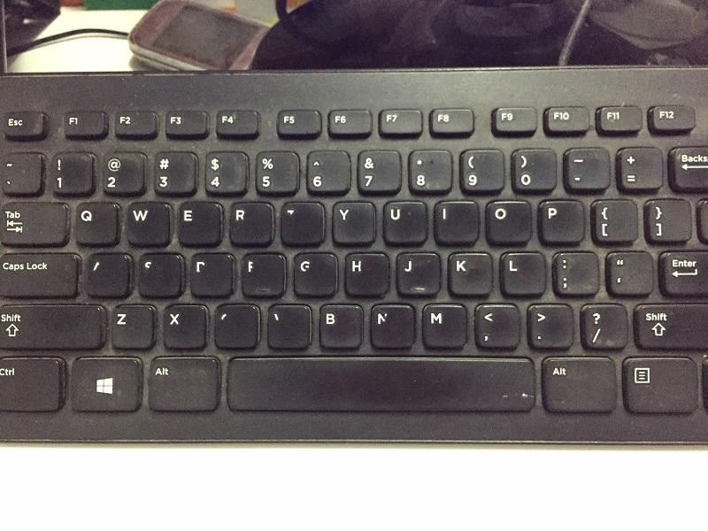 lỗi bàn phím máy tính để bàn không nhận