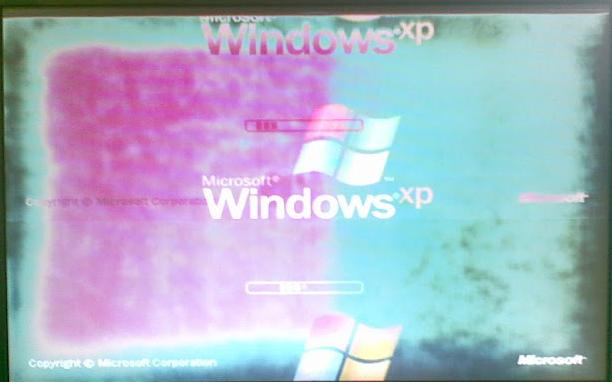 Lỗi màn hình máy tinh bị nhòe