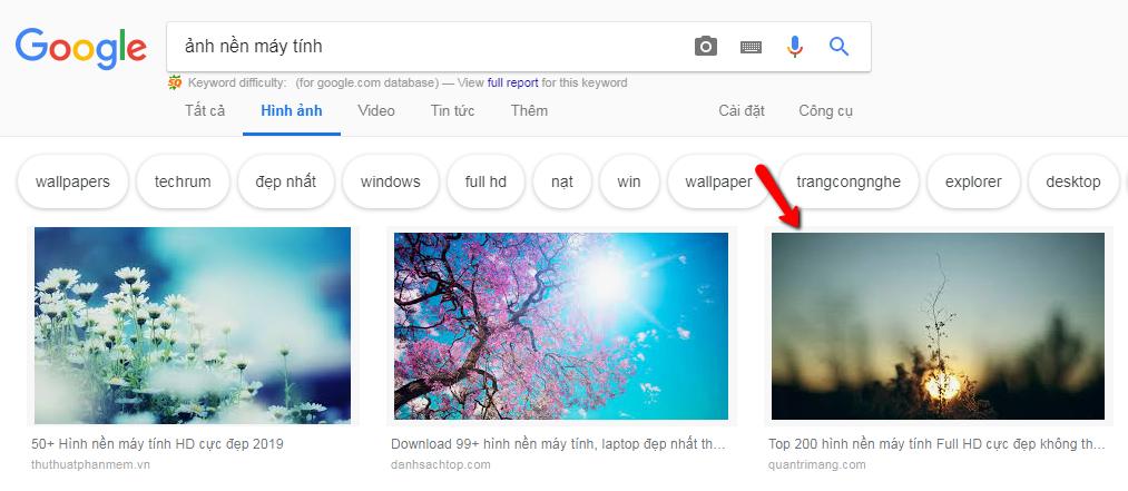 Cách lưu ảnh trên google, cách tải ảnh từ google