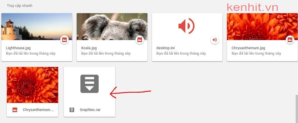 Hướng dẫn cách up file lên google drive