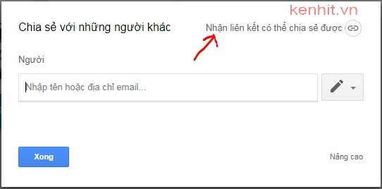 Hướng dẫn cách chia sẻ file trên google drive