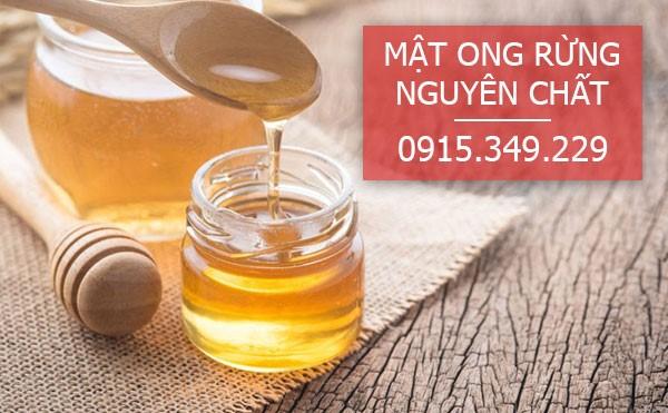 Mật ong nguyên chất giàu dinh dưỡng