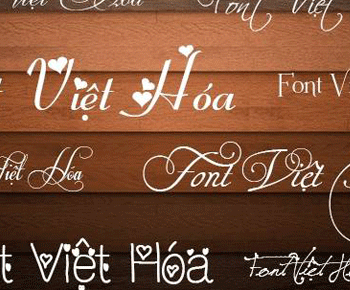 Tải font chữ việt hóa vô cùng đẹp cho máy tính