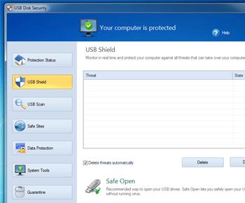 Tải phần mềm USB Disk Security - Ngăn chặn virus từ USB lạ