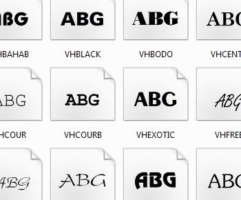 Tại chọn bộ font VnTime cho máy tính