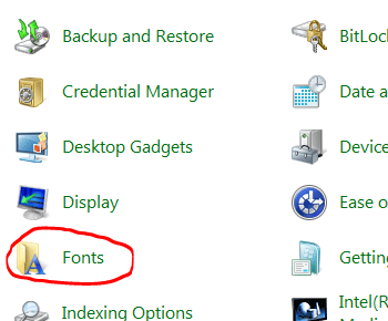 Cách cài đặt thêm font chữ cho máy tính