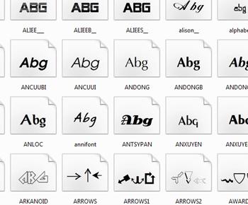 Tải font tiếng viết đầy đủ cho máy tính