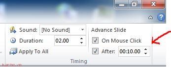 Hướng dẫn cách chạy slide tự động trong powerpoint