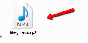 Cách chuyển file ghi âm sang mp3
