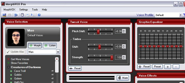 Phần mềm thay đổi giọng nói