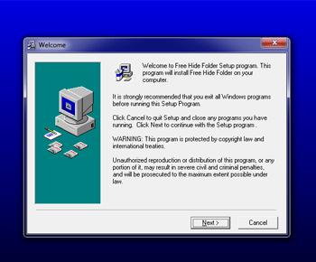 Hướng dẫn ẩn khóa thư mục trong máy tính với Free Hide Folder